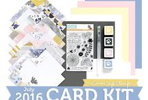 Cards: SSS July 2016 / by Cindi Lynch