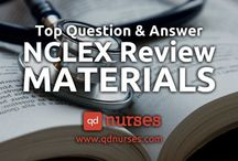 Top NCLEX Review Materials / Here are a number of ways that can help you study for the NCLEX!