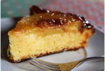 Gâteau à l ananas