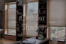 Cellular Shades / Cellular Shades / by Designer Window Fashions