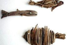 Idées pour bois flotté