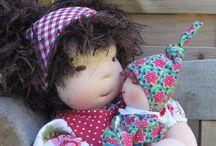 """Waldorfpuppenkinder / Wirklich süße Waldorfpuppen gibt es ganz NEU bei """"LIEBELEIN"""" Mami & Baby. Jede Puppe in liebevoller und sorgfältiger Handarbeit hergestellt......jede ein Unikat"""