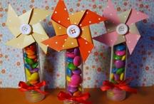Decoração festa Pipas e Cataventos / Festa infantil / by Tereza Leite Moura
