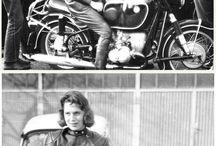 Female Motorcycle Riders / Motorcycle riders