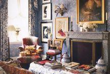 Charlotte Moss, another favorite Designer / by Vicki Wronski