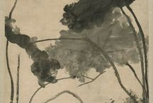 Zu Da / Bada Shanren -八大山人 :Mountain Man of the Eight Greats / Bada Shanren (born Zhu Da ca. 1626—1705) was a Chinese painter of shuimohua and a calligrapher. He was of noble lineage, being a descendant of the Ming dynasty prince Zhu Quan. Art historians have named him as a leading painter of the period.