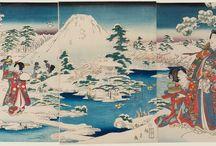 1 Ukiyo-e: Triptychon