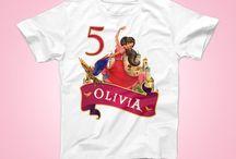 Elena of Avalor Birthday Party Tshirt