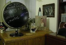 globes / by Alan Mary Smith