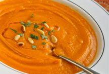 carrot soup recipes / Soup