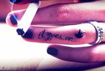 tattoos / by Tia Yamanaka