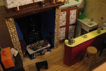 Ma maquette maison de vacances ! / miniature de maison, échelle 1:12ème