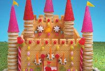 gingerbread princess castle project