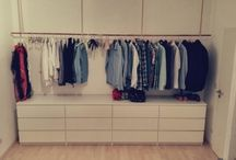 Kleiderschrank begehbar&offen