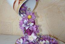 Çiçek şelale