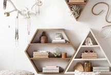 estantes de pared