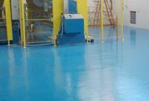 Epoxy Floor Coating / Epoxy floor coating and home design photos.