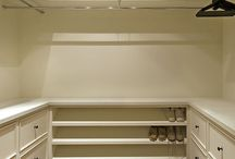 Walk in closet/home office