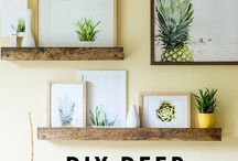Wall Decor / Decorating walls with frames, mirrors, wall paper and more
