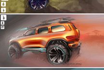 Drawing INSP: Concept Vehicles / Car, Hover Craft, and Space Ship Drawing Inspiration