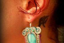 Asi quedan :) mis clientas / soutache jewelry by Zivi / by El rinconcito de Zivi Zivi