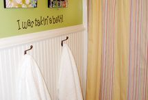 kids bathroom ideas / by Laura Capistrant