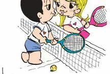 Tennis...neverending unpredictable love! / Neverending unpredictable love!