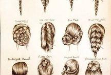 Ulike frisyrer