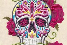 Embrodery and patterns