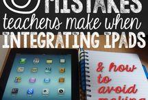 iPad use in classroom