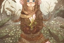 Mori Girl Art