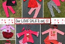 Valentine's Day Outfits / Valentines LOVE Sale!