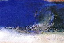 Abstract / Zao wou ki | Hisao Domoto