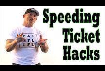Speeding Ticket Hacks / by The Idaho Painter