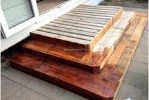 Deck garden|jardim