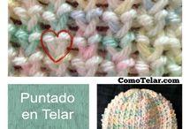 X Telares(Looms) y Crochet ♡ / by Gladys Nieves