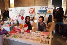 Craft show/booth ideas / by Jenni Smolek