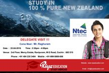 Delegate Visit in Cochin - Ntec Tertiary Group New Zealand / Here is a chance for students who dream of studying abroad in New Zealand. Grab the opportunity to get your application spot assessed by the Institute Delegate, Ntec Tertiary Group New Zealand.