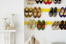 Smart Storage for a Shoeaholic  / Smart shoe storage tips for shoeaholics and fashionistas