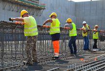 Construction et chantier / Techniques de rationalisation des chantiers de construction en bâtiment et génie-civil.