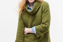 Sweaters / I love a great sweater!  They can range from cozy & casual to chic & stylish, but they are always comfortable.