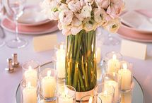 October Wedding / Gorgeous soft and romantic ranunculus and gypsophila for an elegant october wedding