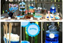 Smurfs Birthday Party  / by Dante-Jazmyn Tiebout