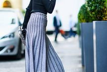 Personal Style / Chic with clean lines and touches of romantic/boho styles