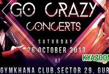 KyaZoonga.com: Buy tickets for Go Crazy Concerts
