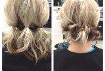 penteados apanhados