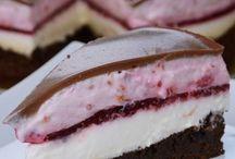 Málnás-csokis joghurt torta