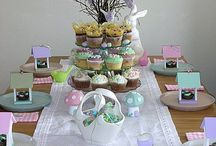 Easter ★ Sweet Tables + party decoration + recipes / Easter ideas, diy and easter party inspiration
