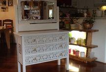 Nellaz furniture upgrades / Recycling refurbishing furniture