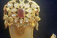Tiger nail pendents